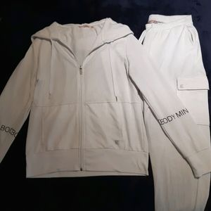 White tracksuit - body mind and soul collection